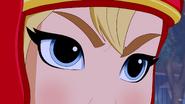 Supergirl DCSHG angry eyes