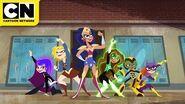 DC Super Hero Girls Monster on the Loose! Cartoon Network