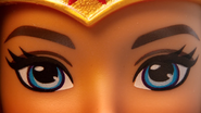 Wonder Woman DCSHG Doll Eyes