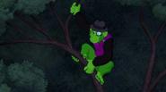 Beast Boy as Chimpanzee