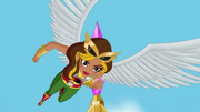 Hero of the Month Hawkgirl