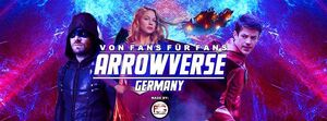 Facebook Arrowverse Germany Banner