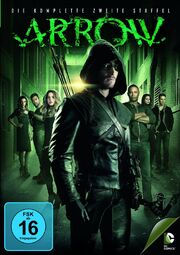 DVD Arrow Staffel 2