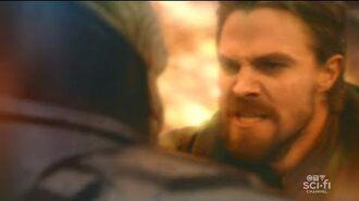 Oliver Queen vs Anti Monitor