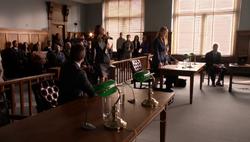 Laurel übernimmt Ollies Verteidigung