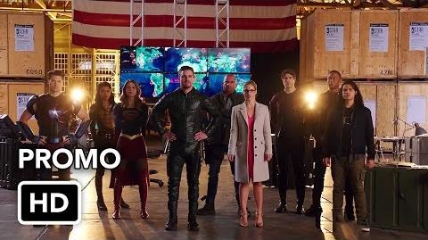 The Flash, Arrow, Supergirl, DC's Legends of Tomorrow - 4 Night Crossover Event Promo 2 (HD)