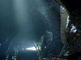 Höhle auf Lian Yu