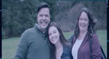 Evelyn und ihre Eltern