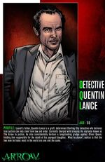 Quentin Lance Character Bio