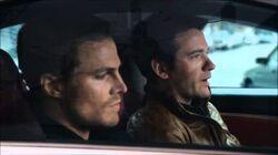 Tommy und Oliver unterwegs