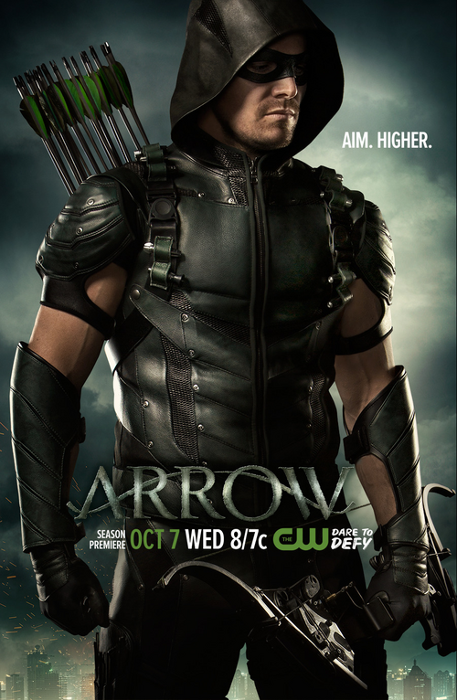 Arrow Poster Staffel 4