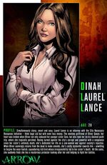 Laurel Lance Character Bio