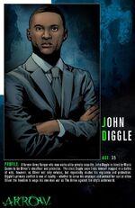 John Diggle Character Bio