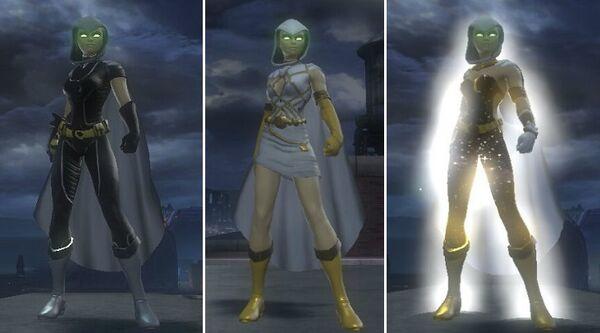 Iris Alternate Costumes