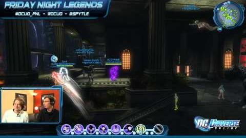Friday Night Legends Episode 1! Live PvP with the Replacements (League) in DC Universe Online!