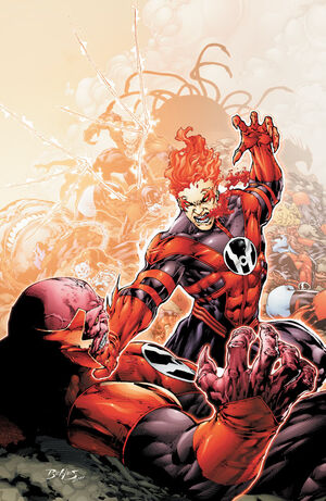 Red Lanterns Vol 1 6 Textless