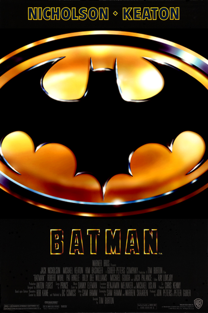 Image result for batman 1989 poster