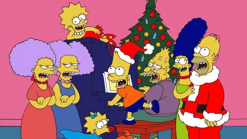 Futurama Christmas Episodes.The Simpsons Christmas Episodes Our Top 5 Fandom