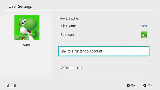 Nintendo ID syncing with Nintendo Switch