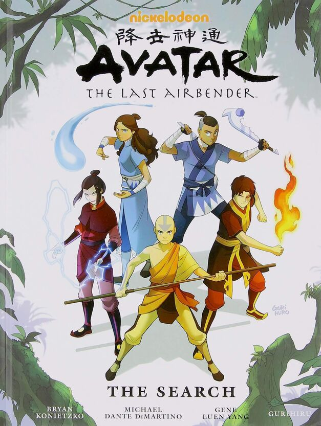 Avatar-Search-hardcover