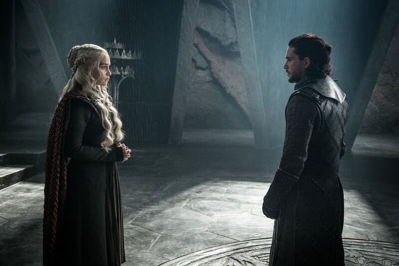 Game of Thrones-Dany and Jon