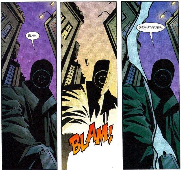 Green Arrow Villain Onomatopoeia Kevin Smith