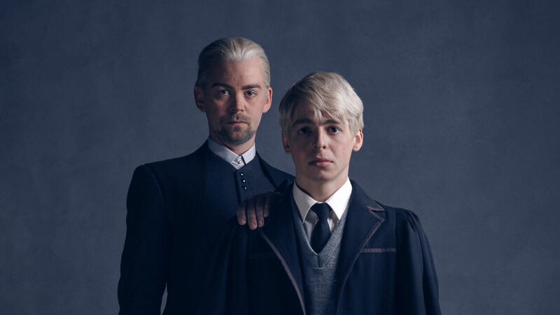 Draco & Scorpius Malfoy from 'Harry Potter and the Cursed
