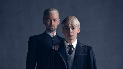 Draco & Scorpius Malfoy from 'Harry Potter and the Cursed Child'