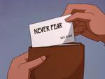 Never Fear Seminar card