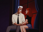 Gordon and Barbara share a moment