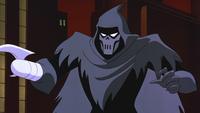 Phantasm engages Batman