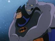 Croc vs Batman