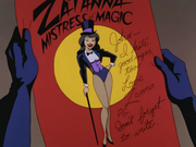 Zatanna's goodbye note