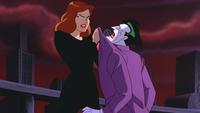 Andrea subdues Joker