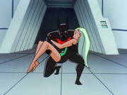 Batman rescues Aquagirl