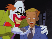 Jordan meets Jecko the clown