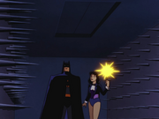 Zatanna and Batman trapped