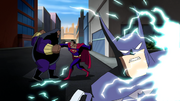 Superman and Batman talk