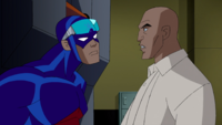 Atom helps Luthor
