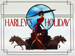Harley's Holiday-Title Card