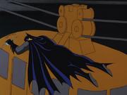Batman knocked out