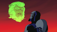 High Father warns Darkseid