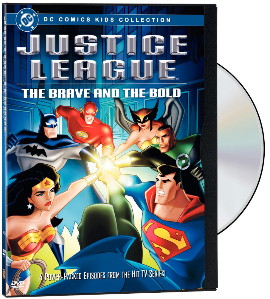 Justice League - The Brave and the Bold (DVD) | DC ...