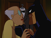 Batman interrogates the Ventriloquist