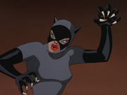 Catwoman hisses