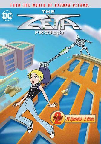 File:The Zeta Project - Season Two (DVD).jpg