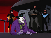 Joker arrested by the Bat-Family