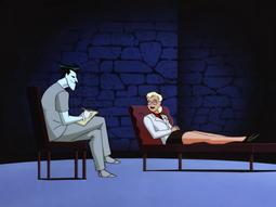 Joker plays the shrink