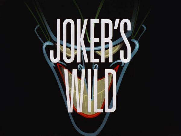 Image result for jokers wild title card