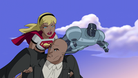 Supergirl, Steel and Luthor